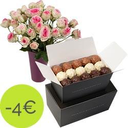 Rochers au pralin� et roses Mimi Eden
