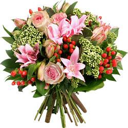 Amaryllis parfum�es et fleurs de saison