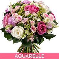 Livraison de bougies parfum es domicile for Aquarelle fleurs livraison gratuite